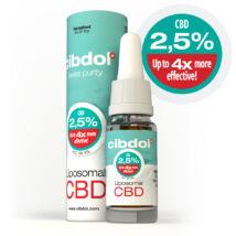 Liposzomális CBD olaj  2,5 %-os (10% ekvivalens)