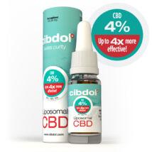 Liposzómális CBD olaj  4,0 %-os (16% ekvivalens)